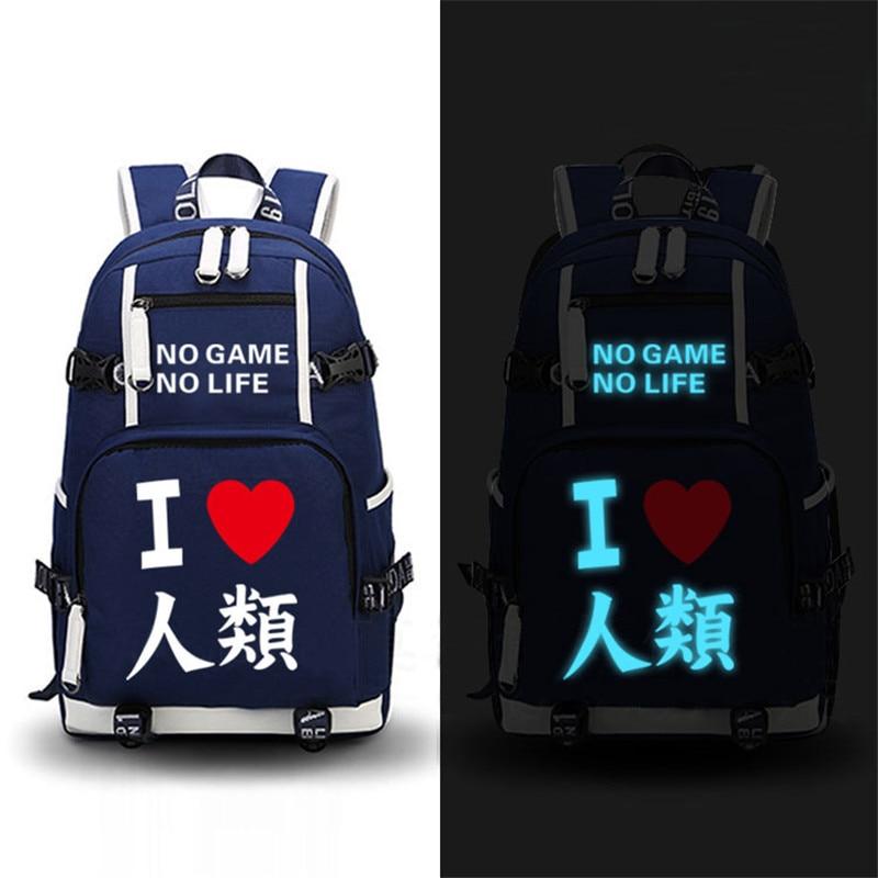 No Game No Life – Luminous Backpack (4 Styles) Bags & Backpacks