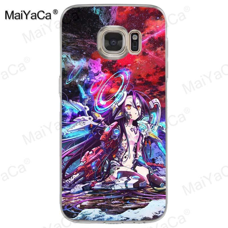 No Game No Life – Sora and Shiro Phone Cases for Samsung Phone Accessories