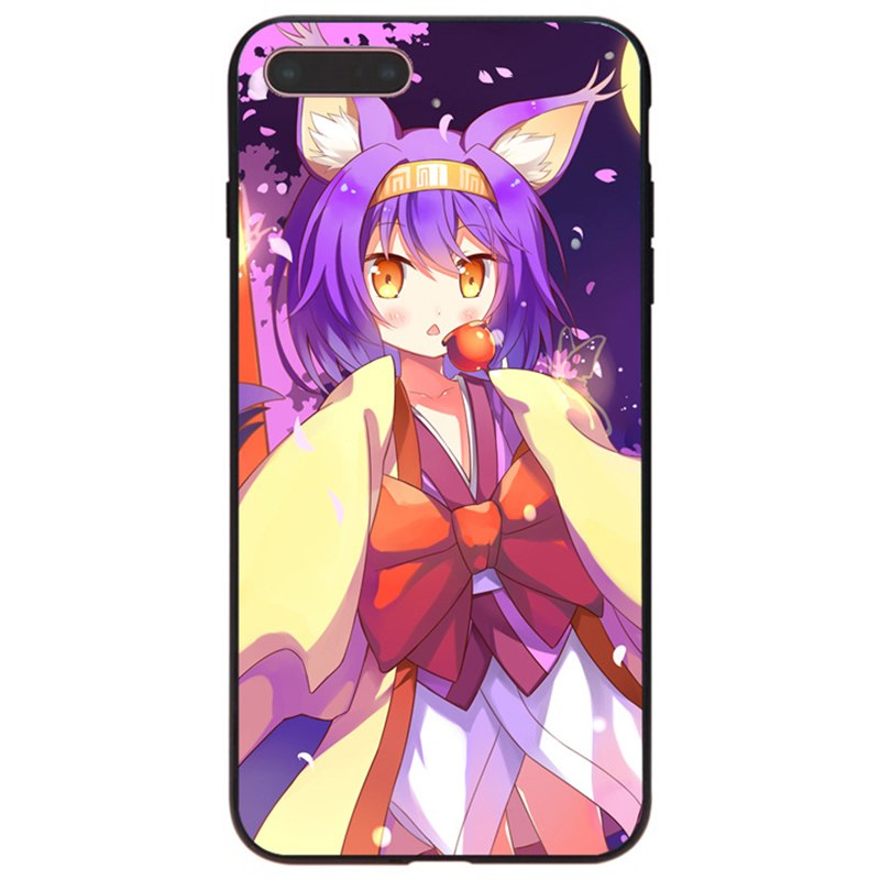 No Game No Life – Sora and Shiro Phone Cases for iPhone Phone Accessories