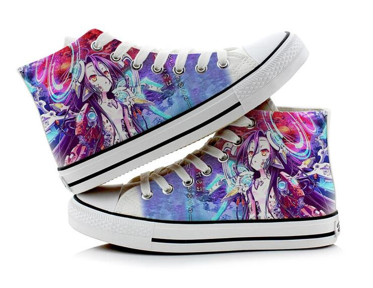 No Game No Life – Sora and Shiro Casual Canvas Shoes Shoes & Slippers