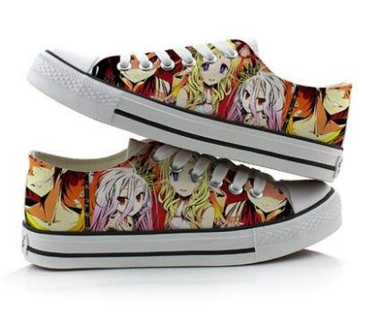 No Game No Life – Canvas Shoes (3 Styles) Shoes & Slippers