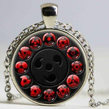 Naruto – Sharingan Eyes Pendant Necklace (6 Colors) Pendants & Necklaces