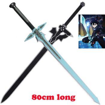 Sword Art Online – Kirito Elucidator and Dark Repulser Cosplay Swords Cosplay & Accessories