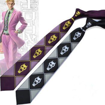 JoJo's Bizarre Adventure – Yoshikage Kira Skull Tie Cosplay & Accessories