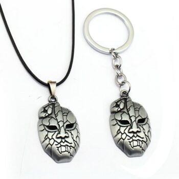 JoJo's Bizarre Adventure – Stone Mask Keychain Pendant Keychains Pendants & Necklaces