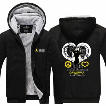 JoJo's Bizarre Adventure – Josuke Higashikata Printed Jacket Hoodie (4 Colors) Hoodies & Sweatshirts