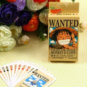 One Piece – Bounties Poker Cards (54pcs/set) Games