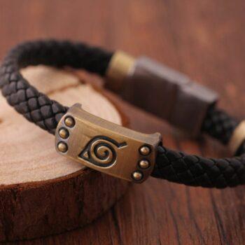 Naruto – Leaf Village Leather Bracelet Bracelets