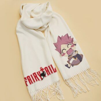 Fairy Tail – Cute White Scarf (2 Styles) Cosplay & Accessories