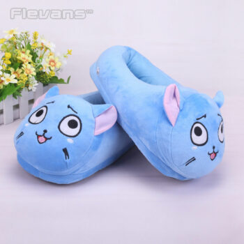 Fairy Tail – Happy Plush Slippers Shoes & Slippers