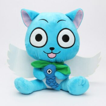 Fairy Tail – Happy Cat Plush Toy (17-30cm) Dolls & Plushies