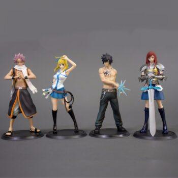 Fairy Tail – Team Natsu 2pcs/set Action Figures (13cm) Action & Toy Figures