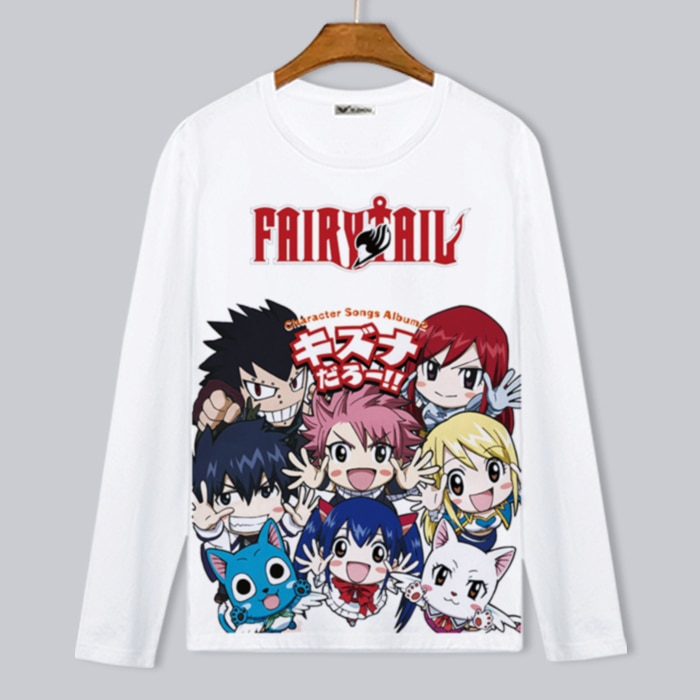 Fairy Tail – Cute Printed Sweatshirt (25 Styles) Hoodies & Sweatshirts
