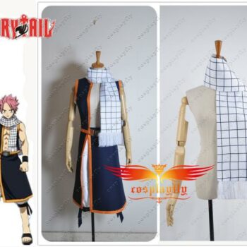 Fairy Tail – Natsu Dragneel Cosplay Scarf Cosplay & Accessories