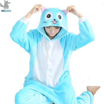 Fairy Tail – Happy Exceed Cat Pajamas Cosplay Costume Cosplay & Accessories