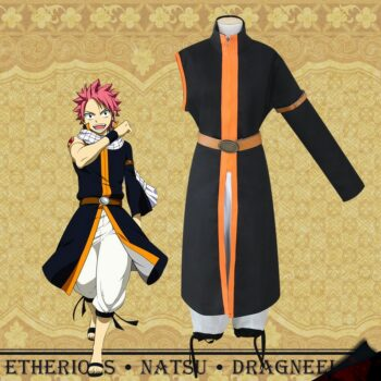 Fairy Tail – Natsu Dragneel Cosplay Costume Cosplay & Accessories