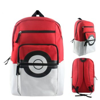 Pokemon – Universal PokeBall Backpack (2 Colors) Bags & Backpacks
