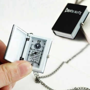 Death Note – Pendant Necklace with Death Note Watch Pendants & Necklaces Watches