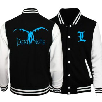 Death Note and Bleach – Glowing Bomber Jacket (3 Styles) Jackets & Coats