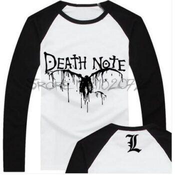 Death Note – Printed Sweatshirt (Black and White) Hoodies & Sweatshirts
