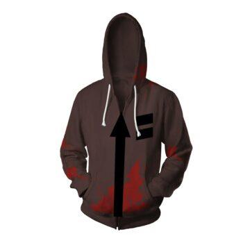 Angels of Death – Zack Isaac Foster Hoodie Cosplay Costume Cosplay & Accessories Hoodies & Sweatshirts