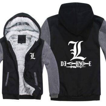 Death Note – L Jacket Hoodie (9 Styles) Hoodies & Sweatshirts