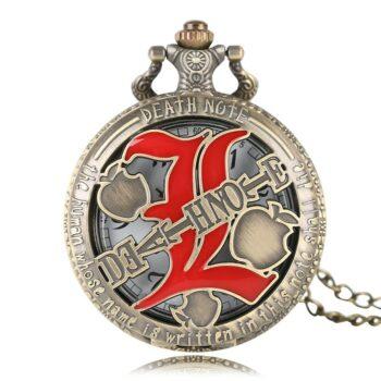 Death Note – Bronze Pocket Watch Watches