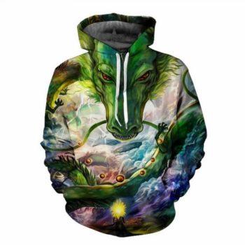 Dragon Ball – Shenron Warm Loose Unisex Printed Hoodie (8 Styles) Hoodies & Sweatshirts