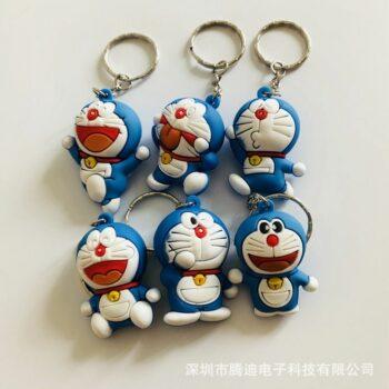 Doraemon – 3D Keychain Pendant (6 Styles) Keychains Pendants & Necklaces