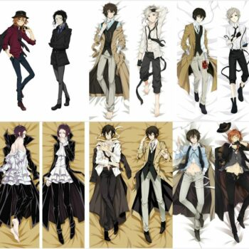 Bungo Stray Dogs – Dakimakura Hugging Body Pillow Cover (7 Styles) Bed & Pillow Covers