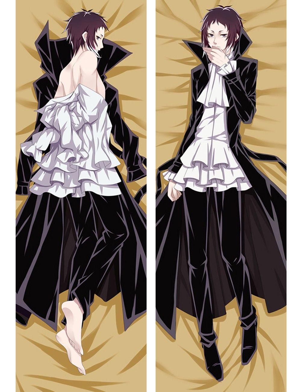 105cm Anime Bungou Stray Dogs Dakimakura Hugging Body Pillow Case Covers