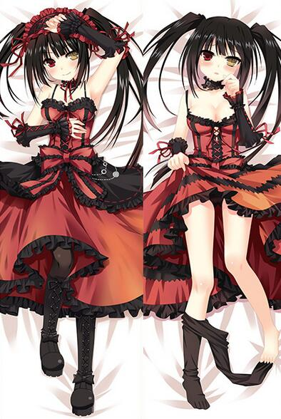 Date A Live – Kurumi and Kotori Dakimakura Hugging Body Pillow Cover (15 Styles) Bed & Pillow Covers