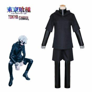 Tokyo Ghoul – Ken Kaneki Cosplay Costume Cosplay & Accessories