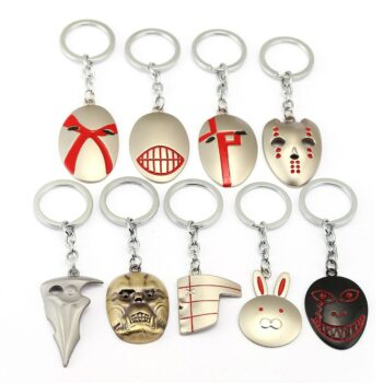 Tokyo Ghoul – Masks Keychain Pendant (9 Styles) Keychains Pendants & Necklaces