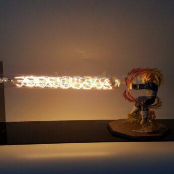 Dragon Ball – Vegeta Super Saiyan Galick Gun 3D Illusion Led Desk Lamp Lamps
