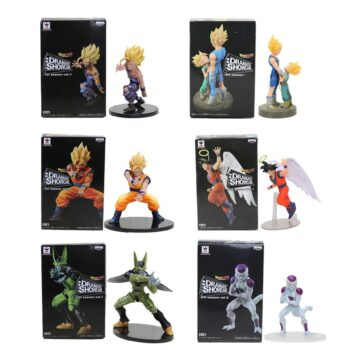Dragon Ball – Dramatic Showcase Son Goku, Vegeta, Trunks, Gohan, Cell, Frieza Action Figures (11-21cm) Action & Toy Figures