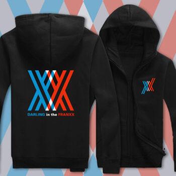 Darling in the Franxx – Jacket Hoodie (4 Colors) Hoodies & Sweatshirts Jackets & Coats