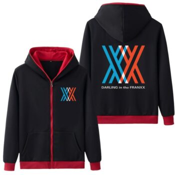 Darling in the Franxx – Jacket Hoodie (10 Colors) Hoodies & Sweatshirts Jackets & Coats