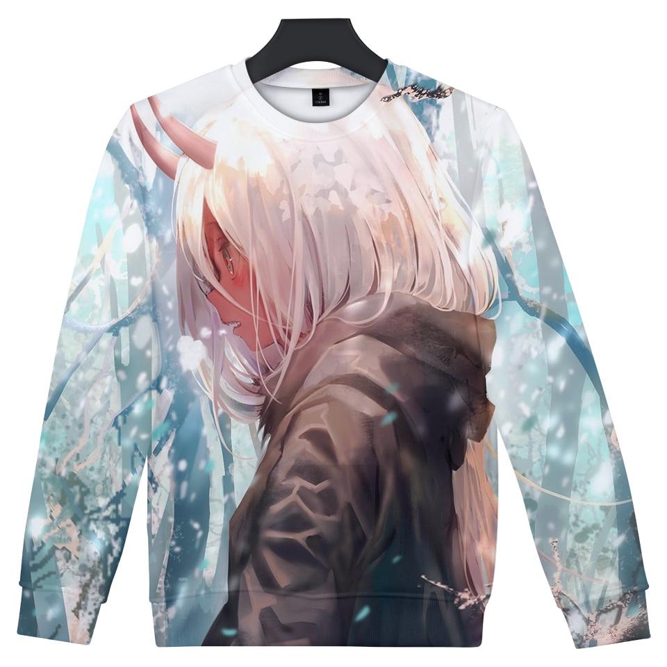 Darling in the Franxx – Zero Two and Hiro 3D Printed Sweatshirt (9 Styles) Hoodies & Sweatshirts