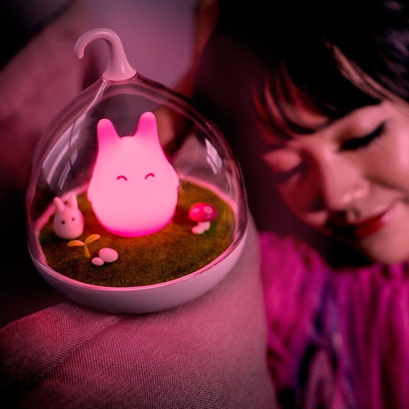 My Neighbor Totoro – Kawaii Chibi Totoro Touch Sensor Led Desk Lamp (4 Colors) Lamps