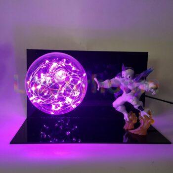 Dragon Ball – Frieza Flash Ball 3D Illusion Led Desk Lamp Lamps