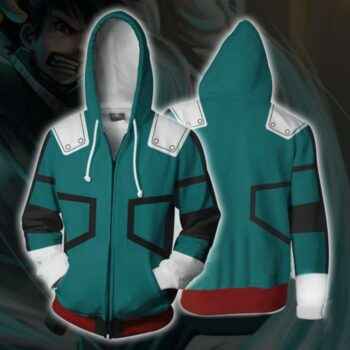 My Hero Academia – Izuku Midoriya Jacket Hoodie (2 Styles) Hoodies & Sweatshirts Jackets & Coats
