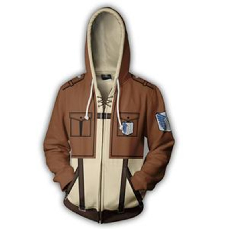 Buy Attack on Titan - Survey Corps Jacket Hoodie (4 Colors) - Hoodies & Sweatshirts, Jackets & Coats