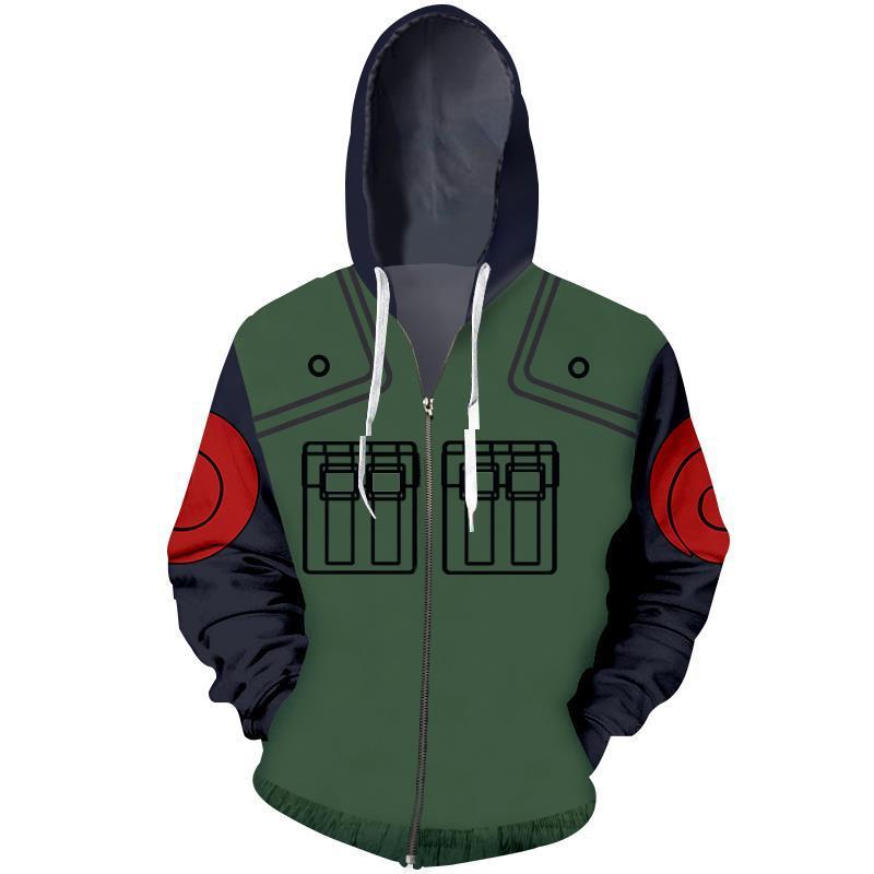 Naruto – Naruto, Itachi, Minato, Obito, Kakashi and Jiraiya 3D Printed Jacket Hoodie (15 Styles) Hoodies & Sweatshirts Jackets & Coats