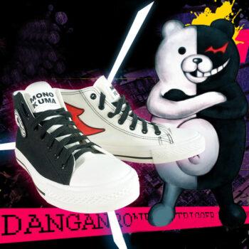 Danganronpa – Monokuma Canvas Shoes Shoes & Slippers