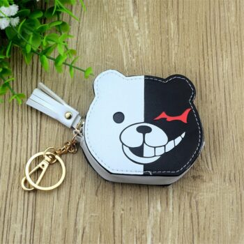 17 Anime Coin Purse with Keychain Wallets