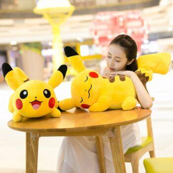 Pokemon – Sleeping Pikachu Plush Toy (2 Styles) Dolls & Plushies