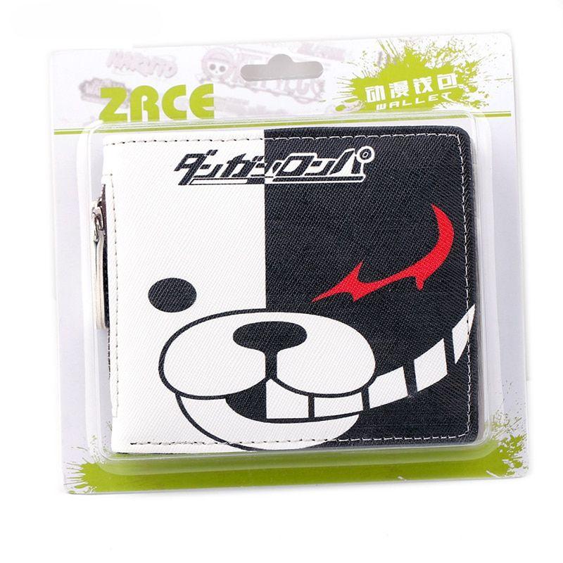 Danganronpa – Monokuma Short Wallet with Zipper Wallets