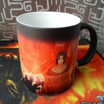 Naruto – Itachi and Sasuke with Susanoo Heat Mug Mugs