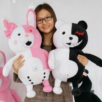 Danganronpa – Monokuma and Kumamon Plush Toy (8 Styles) Dolls & Plushies